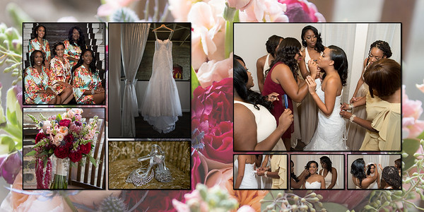 Brice and Tia wedding album