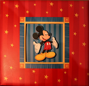 Disney World Vacation - Scrapbook