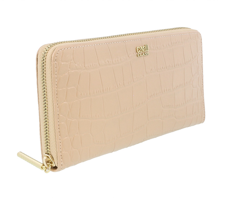 Class Roberto Cavalli London 192 Nude Wallet On a Chain