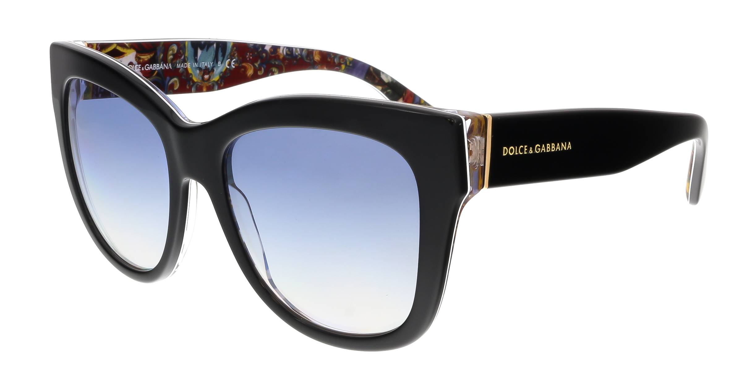 Dolce & Gabbana DG4270 303319 Black Cateye  Sunglasses