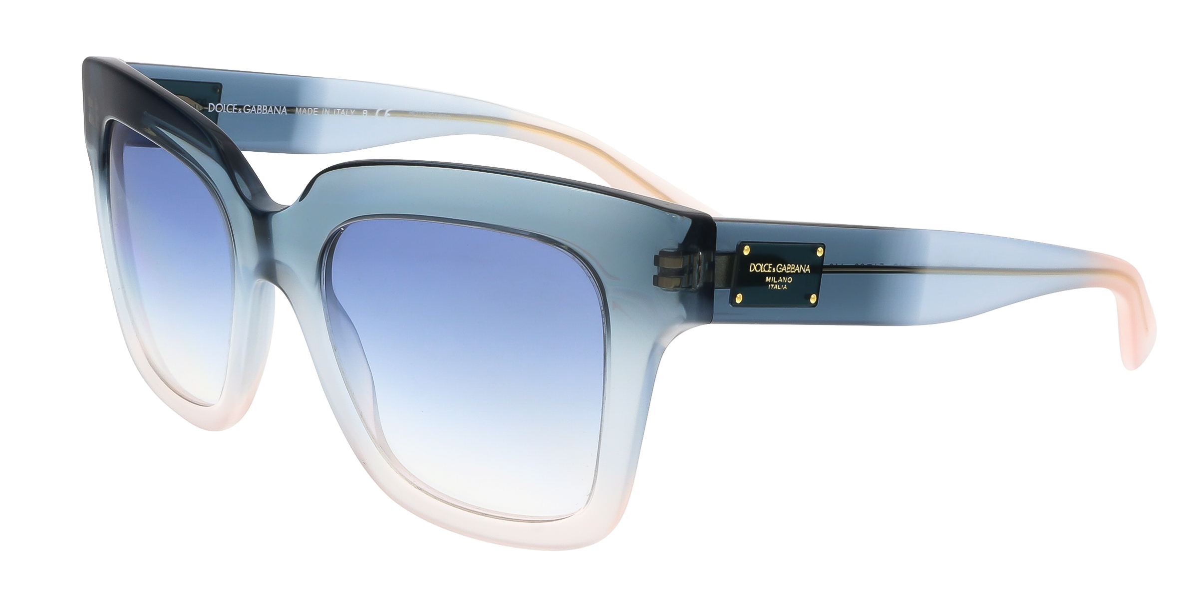 Dolce & Gabbana DG4286 305919 Blue Gradient Square Sunglasses