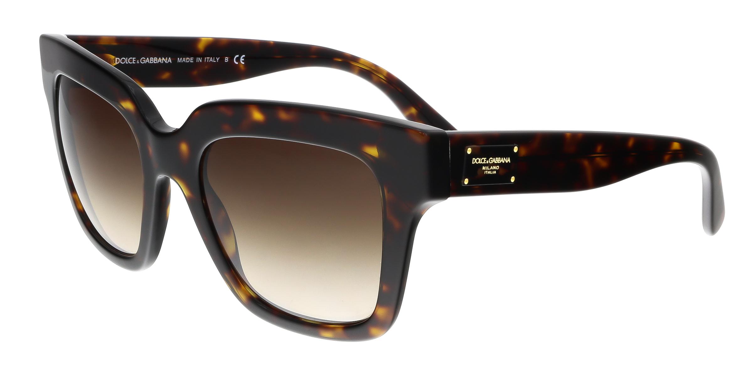 Dolce & Gabbana DG4286 502/13 Havana Square Sunglasses