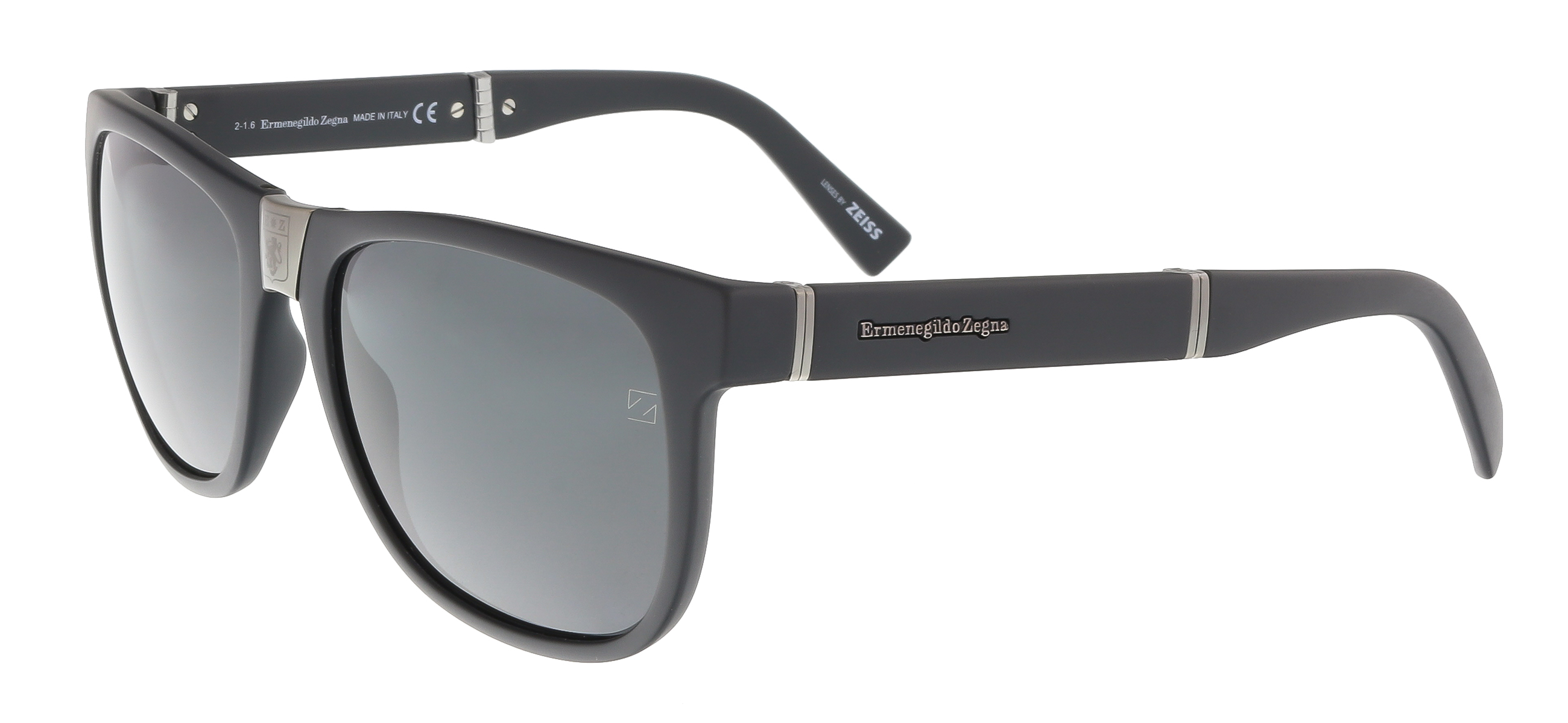 EZ0049 20A Black Wayfarer Feline Sunglasses