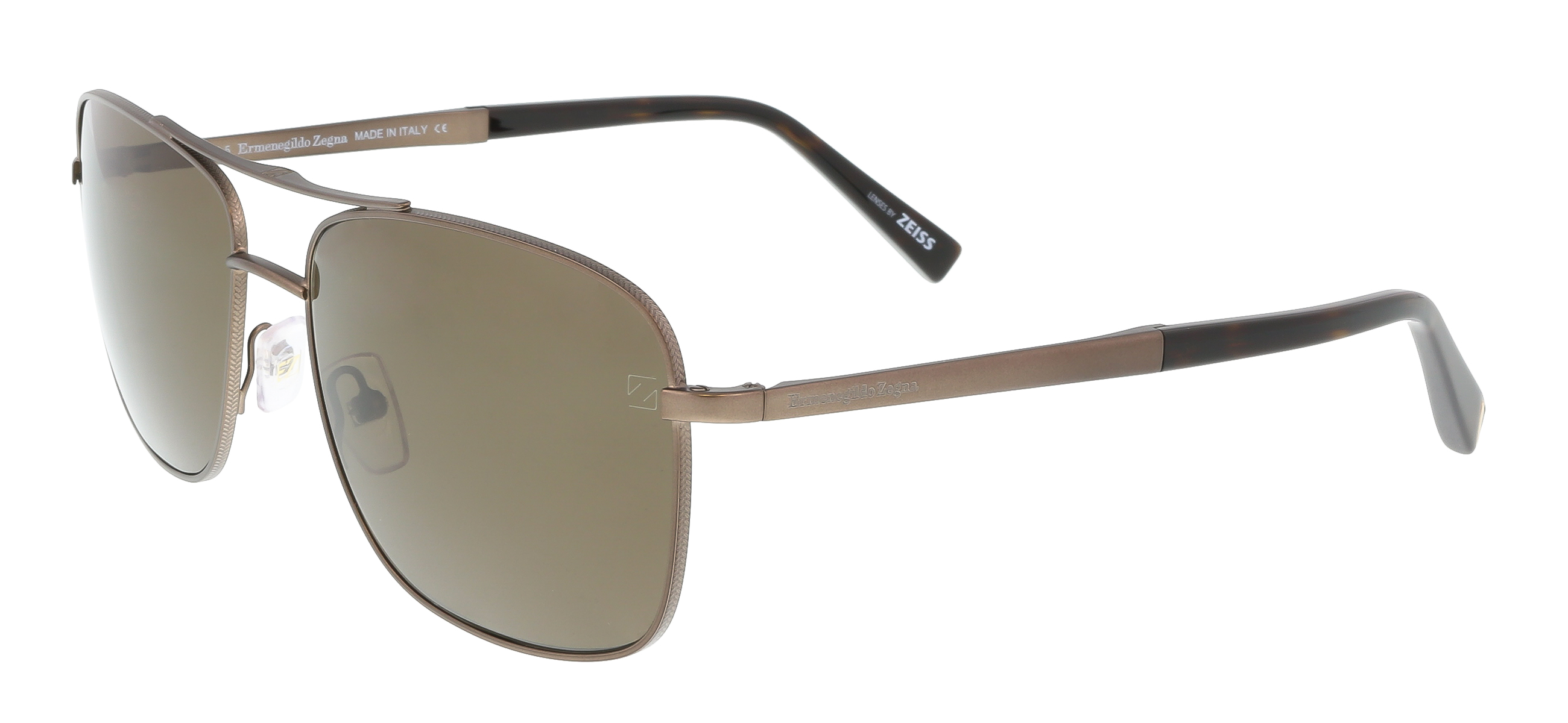 EZ0021 37M Bronze Aviator Feline Sunglasses