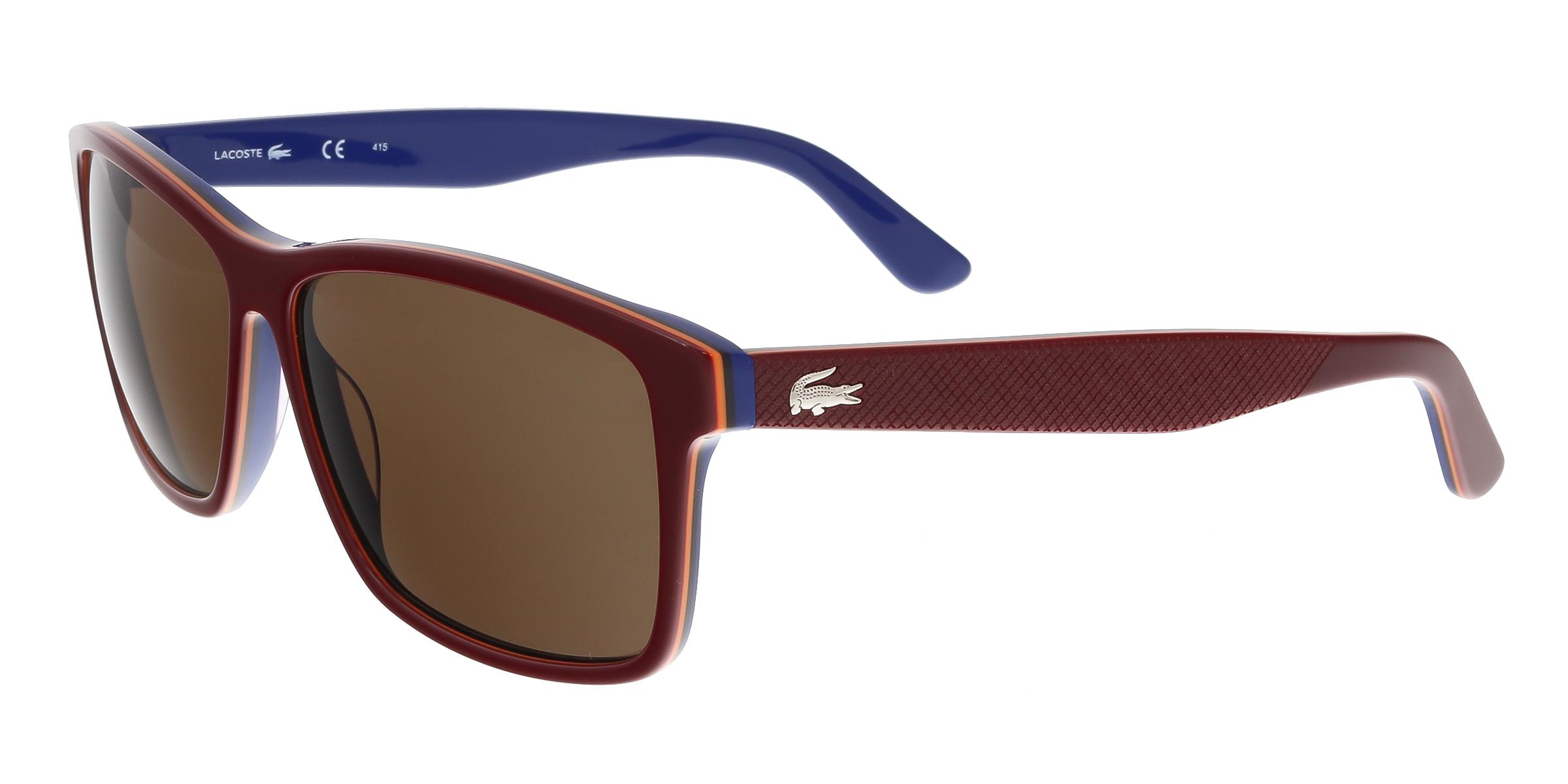 L705/S 604 Burgundy Wayfarer Sunglasses