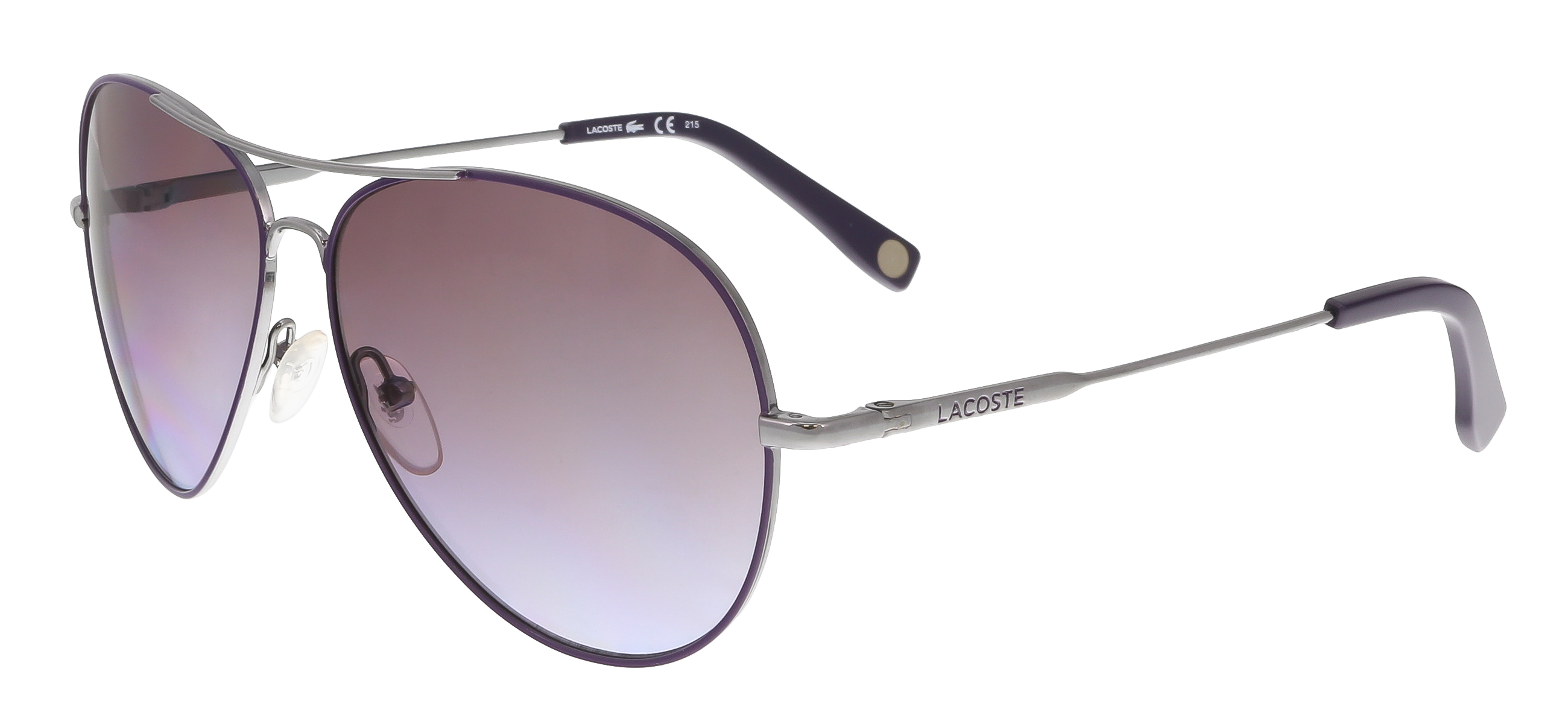 L174/S 035 Purple Aviator Sunglasses