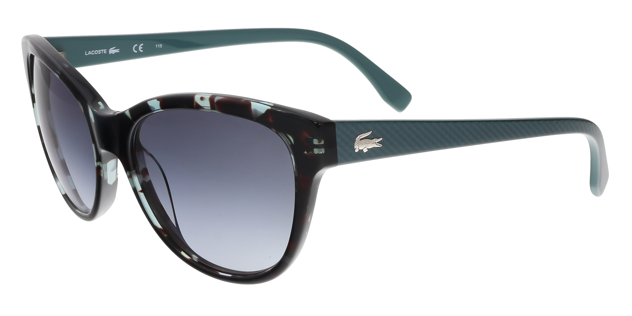 L785/S 466 Petrol Havana Cat Eye Sunglasses