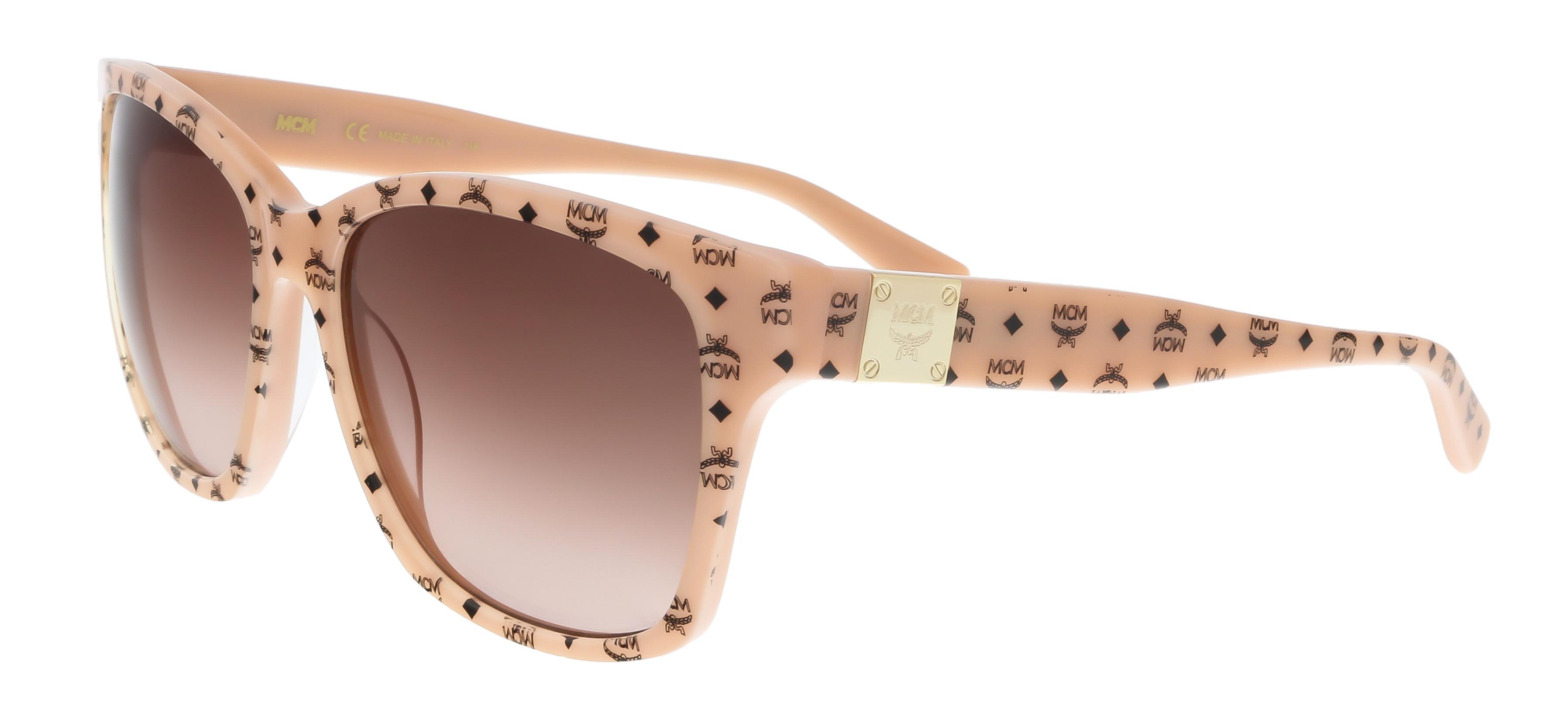 MCM600S 291 Nude Visettos Wayfarer Feline Sunglasses