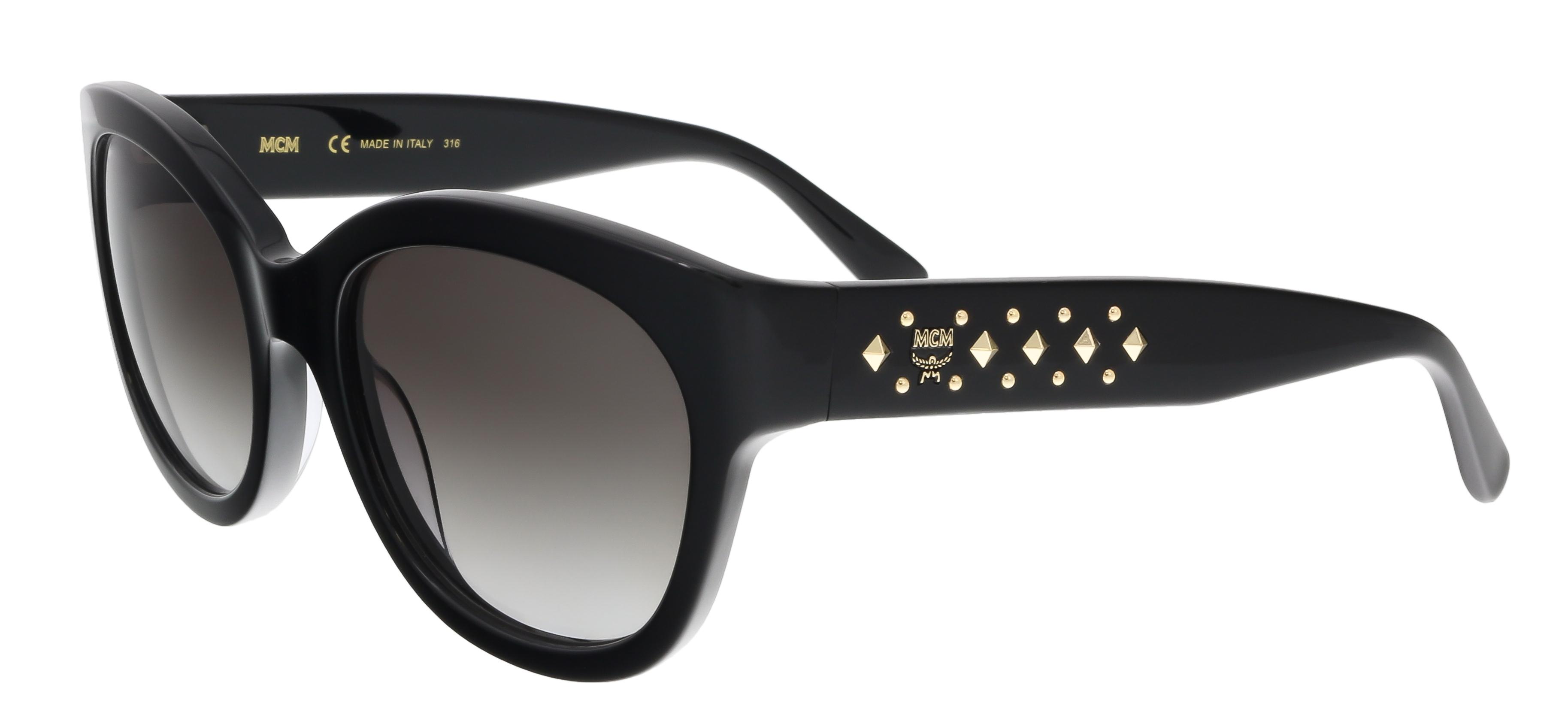 MCM606S 001 Black Cat Eye Feline Sunglasses