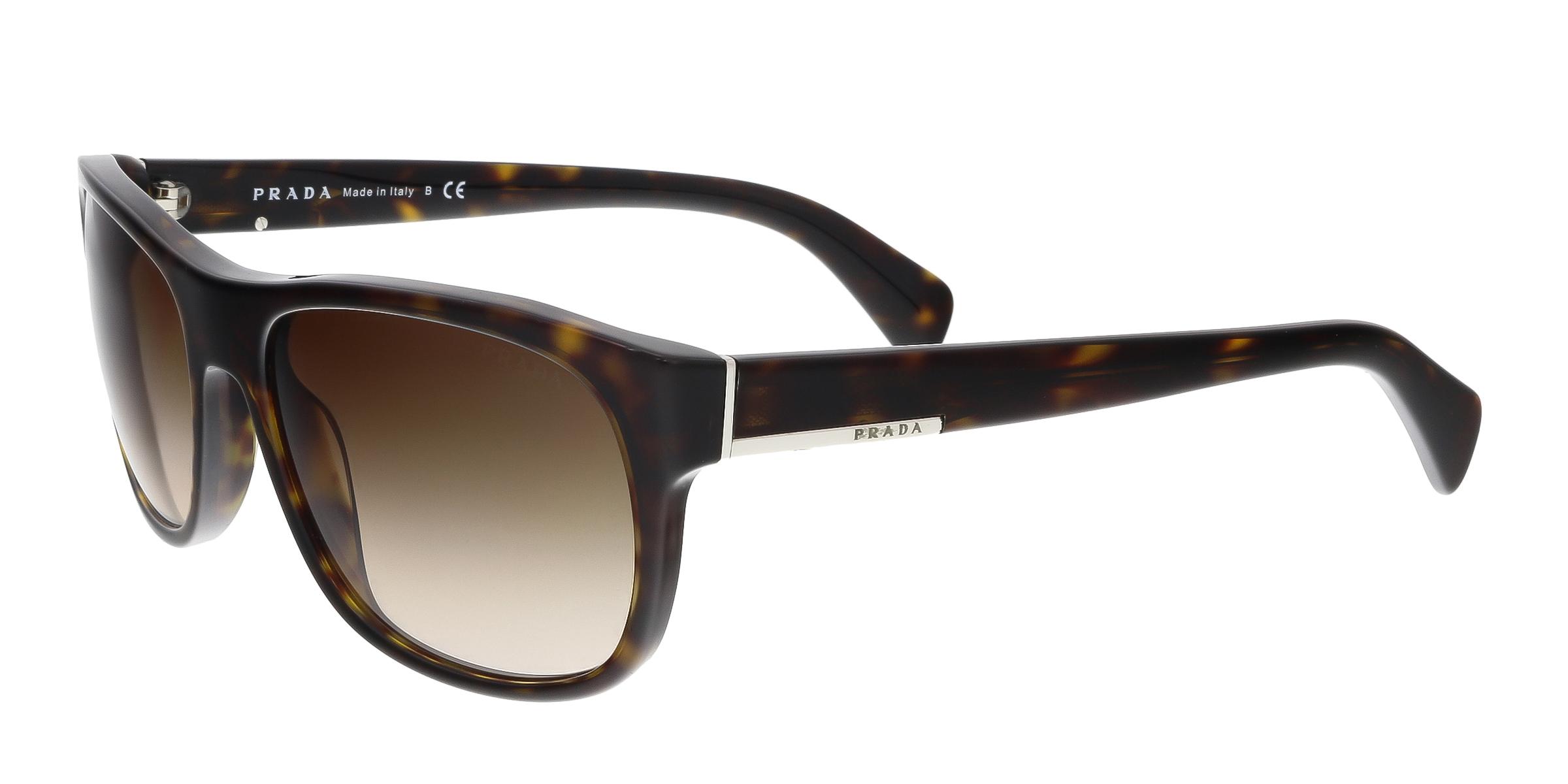 Prada PR29RS 2AU6S1 Havana Wayfarer Sunglasses