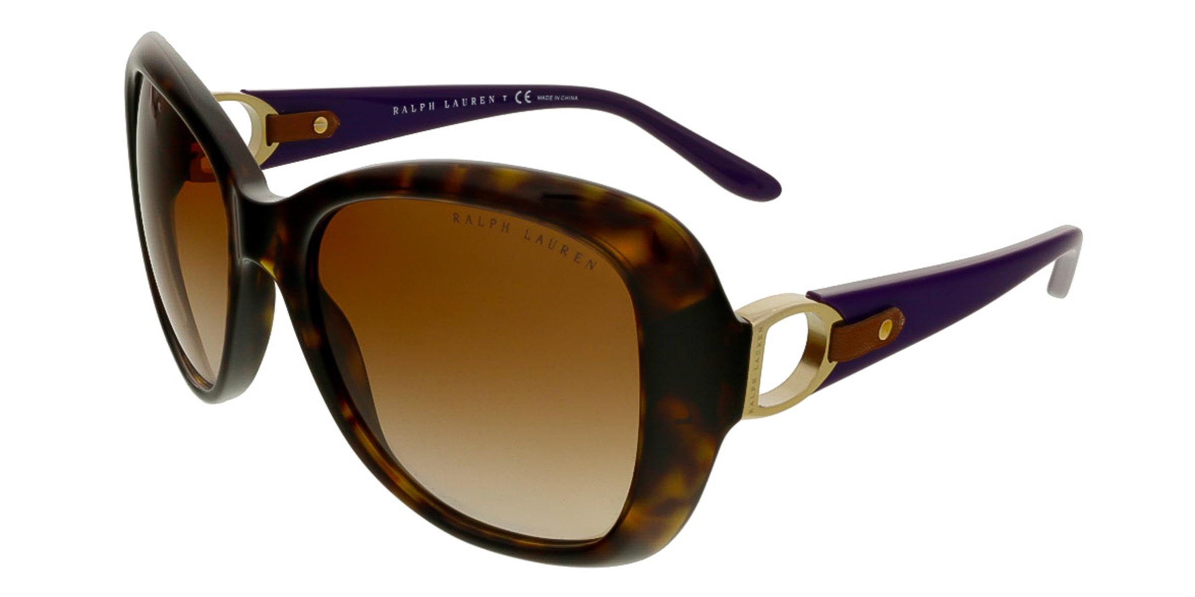 Ralph Lauren RL8108Q 500313 Havana Square Sunglasses