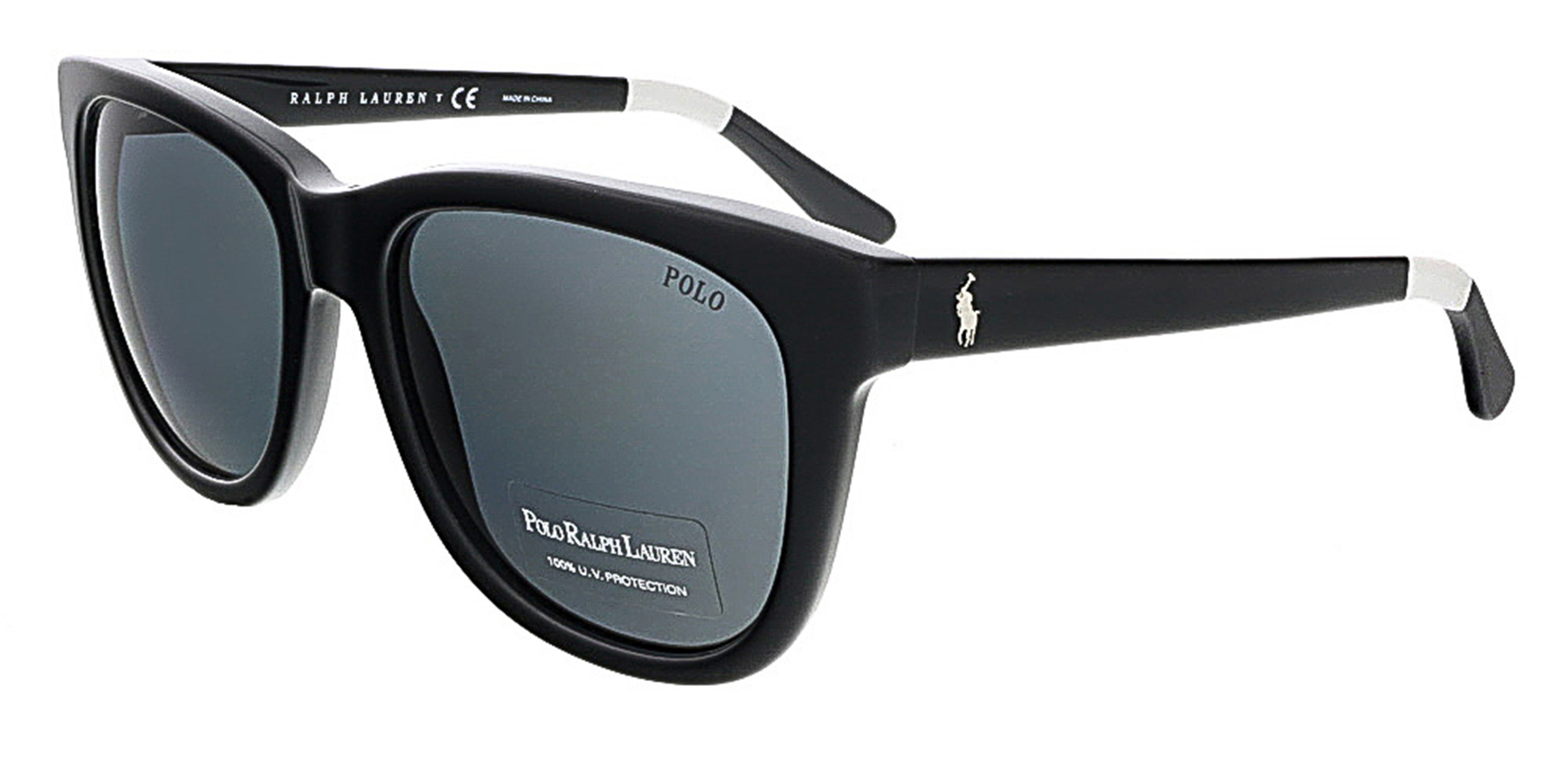 Polo Ralph Lauren PH4105 556987 Shiny Black Square Polo Ralph Lauren sunglasses