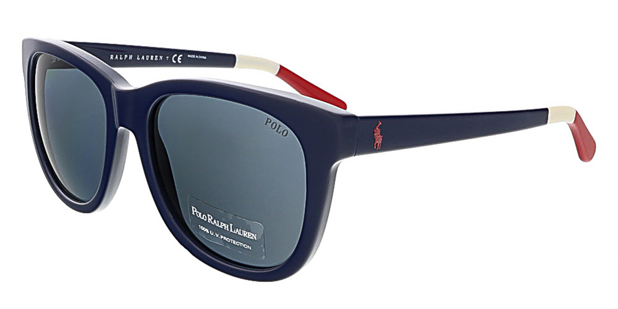 Polo Ralph Lauren PH4105 556987 Shiny Navy Square Polo Ralph Lauren sunglasses