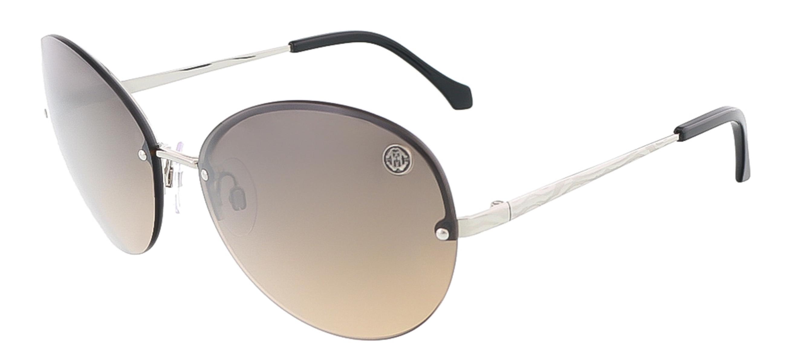 Roberto Cavalli RC782S/S 16B HYDRA Silver Oval sunglasses