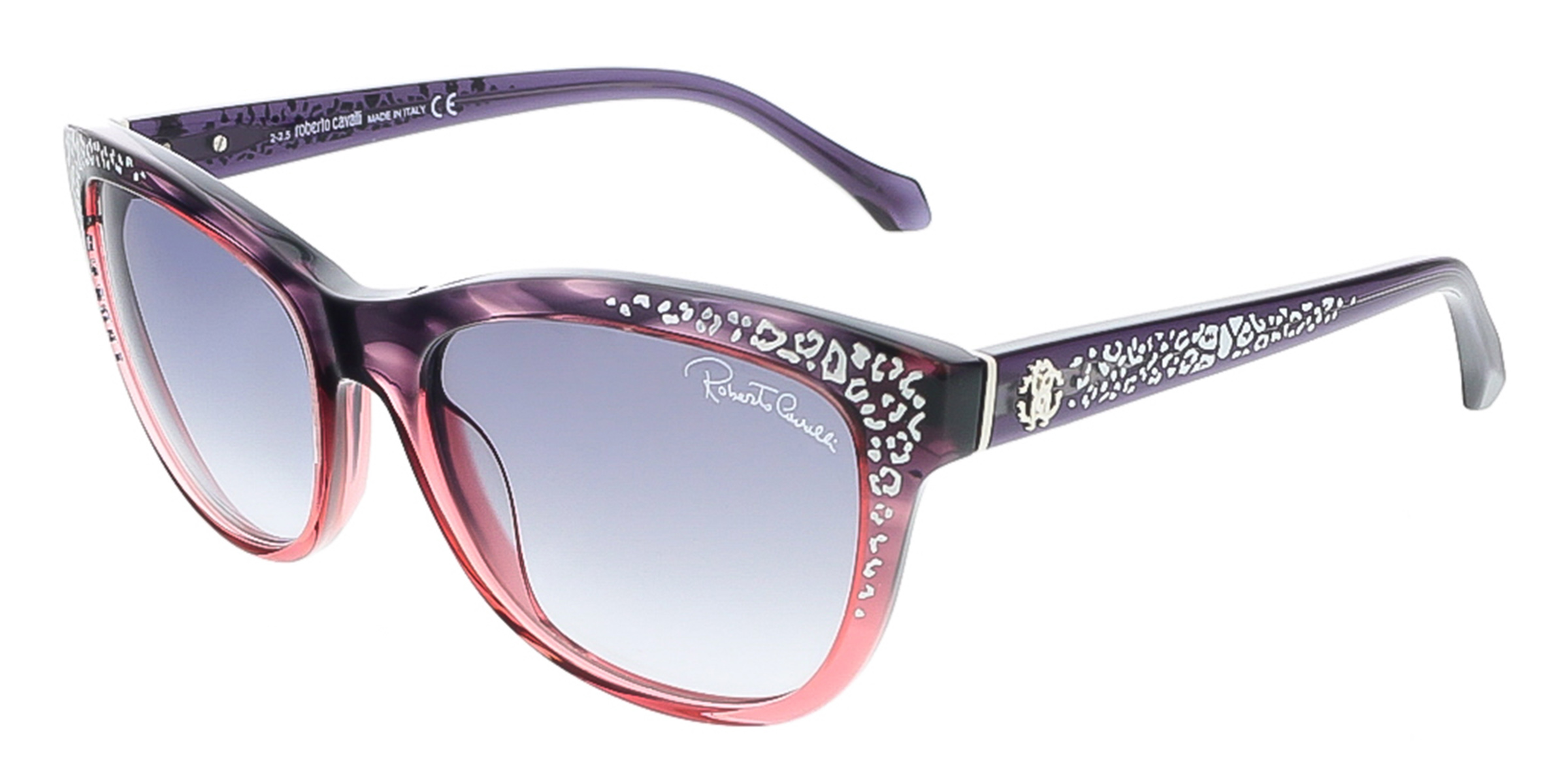 Roberto Cavalli RC991S/S 83B TSZE Purple/Rose Gradient Cateye sunglasses