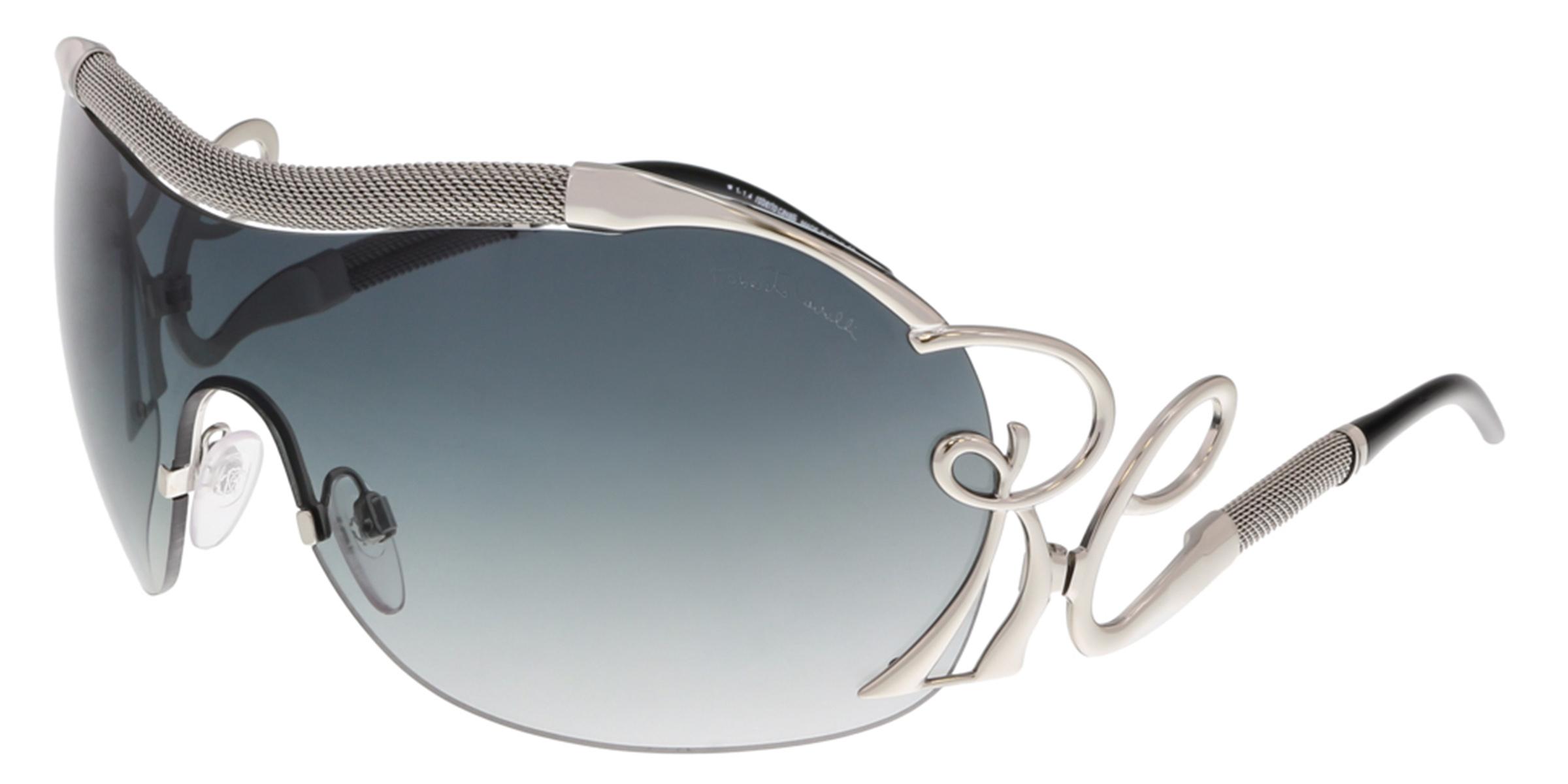 Roberto Cavalli RC852S BOTEIN G07 Silver Shield Sunglasses