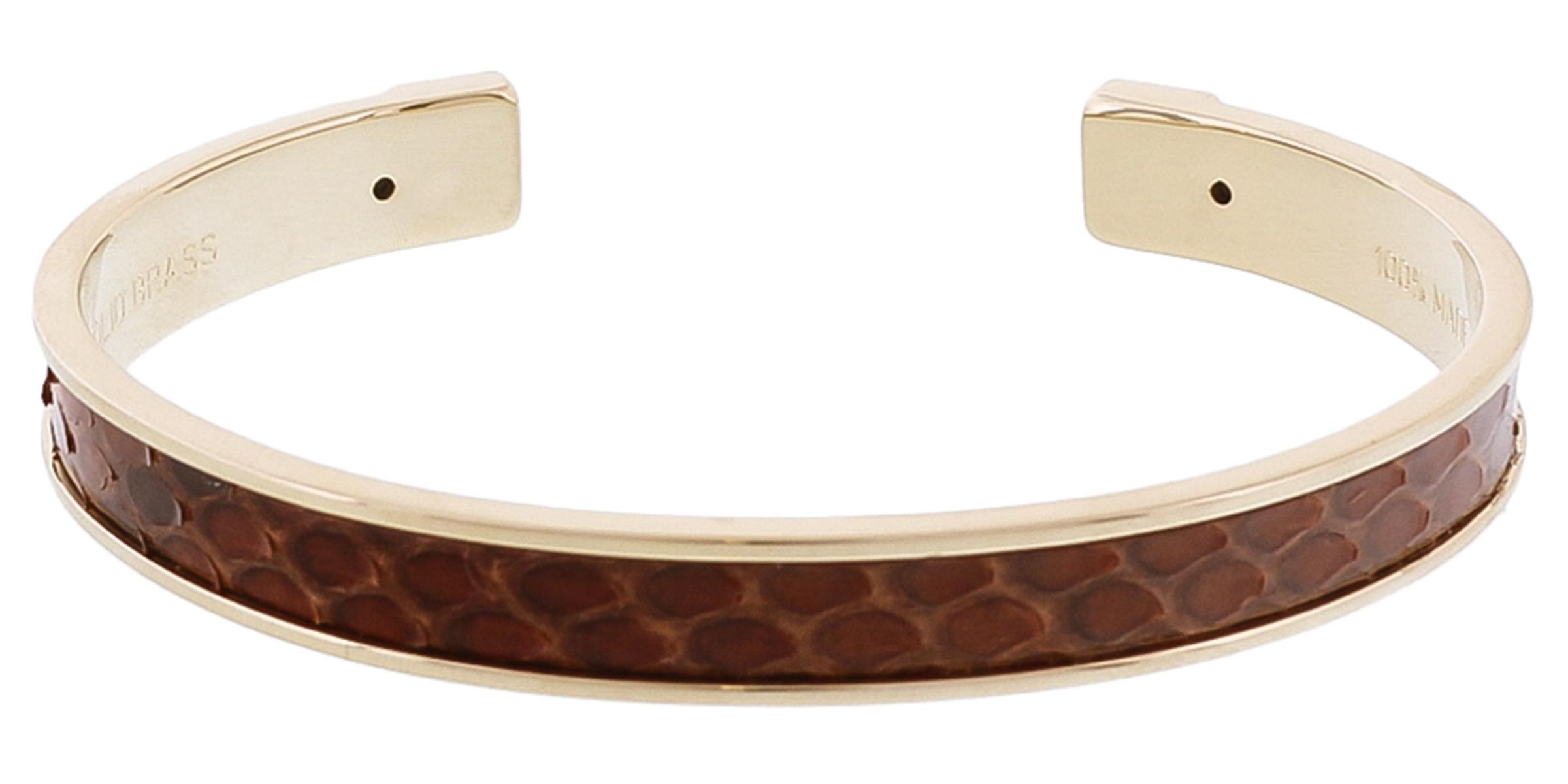 Stamerra PICCOLO PITTONE MR Dark Brown Genuine Python Bracelet