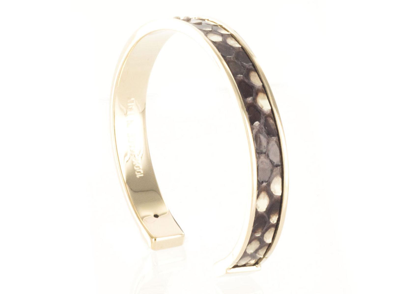 Stamerra PICCOLO PITTONE MR Brown Genuine Python Bracelet
