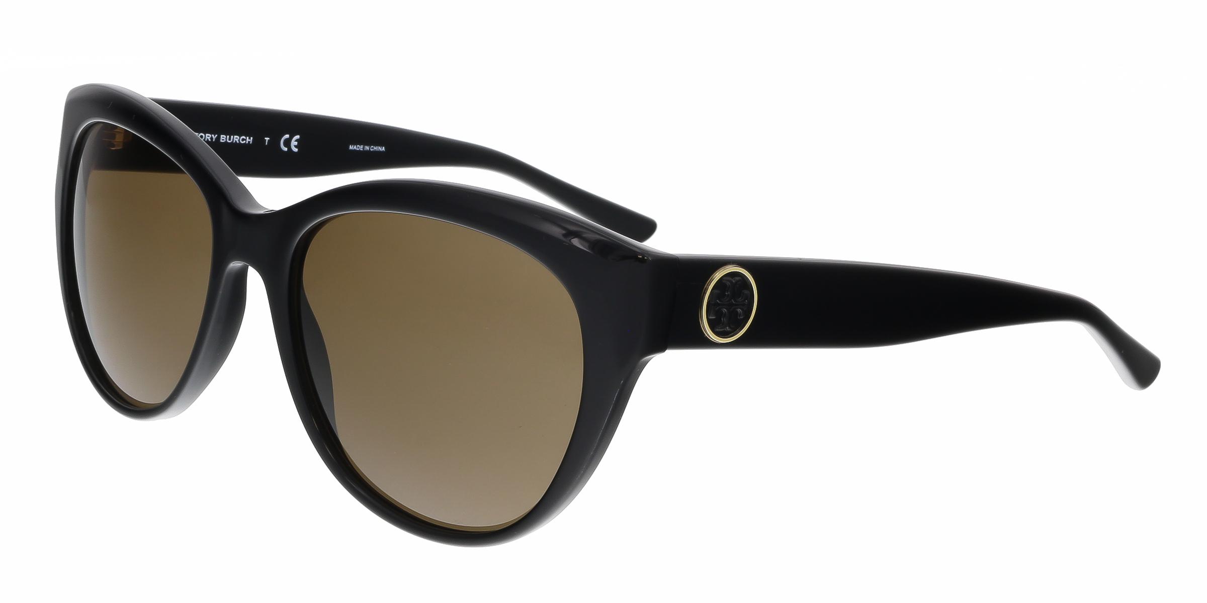 Tory Burch TY7084 131273 Black Cat Eye Sunglasses