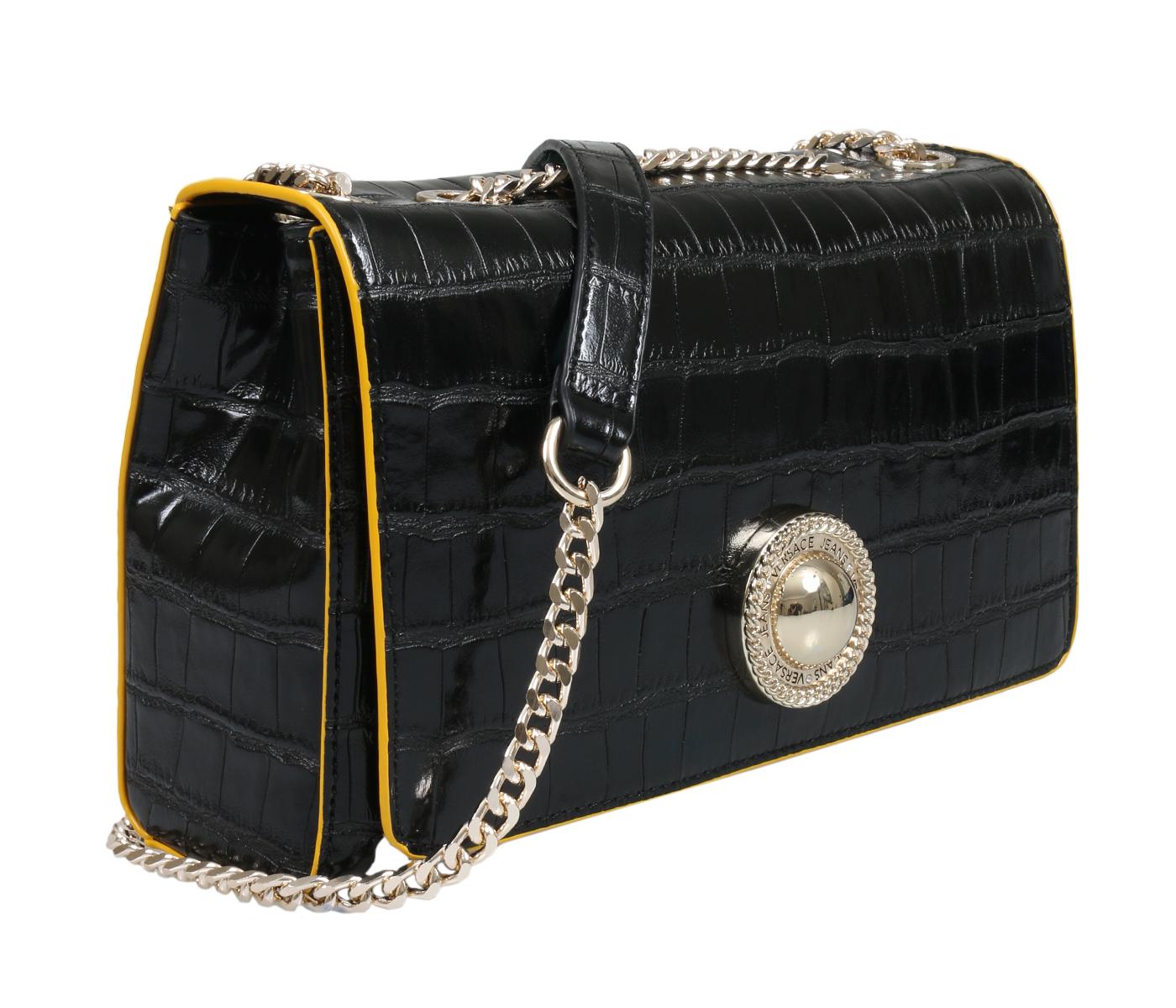 Versace Ee1vsbboa E899 Black Shoulder Bag c9b687d42ab9f