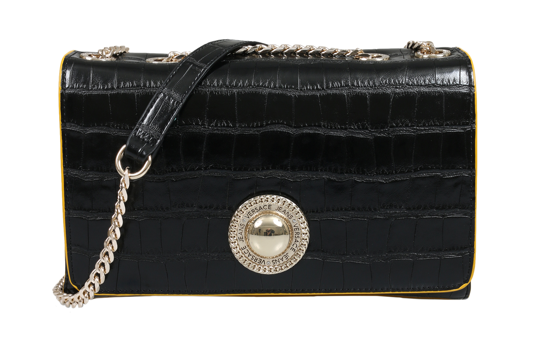... Picture 2 of 5  Picture 3 of 5  Picture 4 of 5. 2. Versace EE1VSBBOA  E899 Black Shoulder Bag 307bf67711829