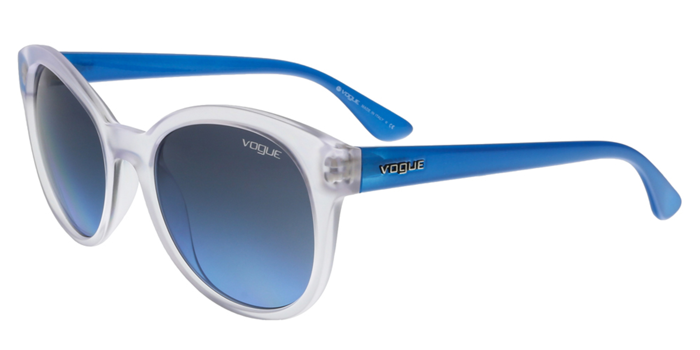 Vogue VO2795/S W7458F Clear/Blue Round sunglasses Sunglasses