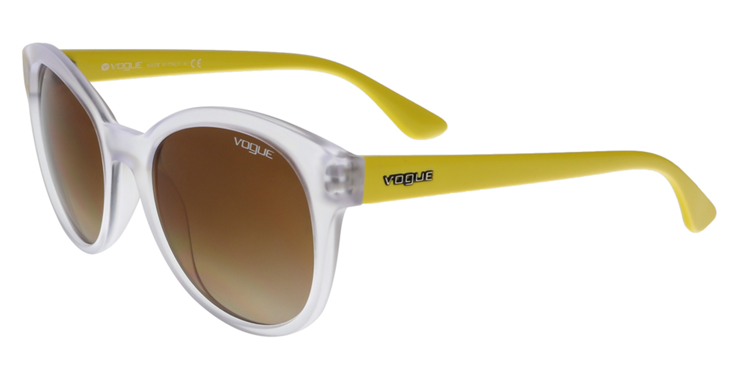 Vogue VO2795/S W74513 Clear/Yellow Round sunglasses Sunglasses