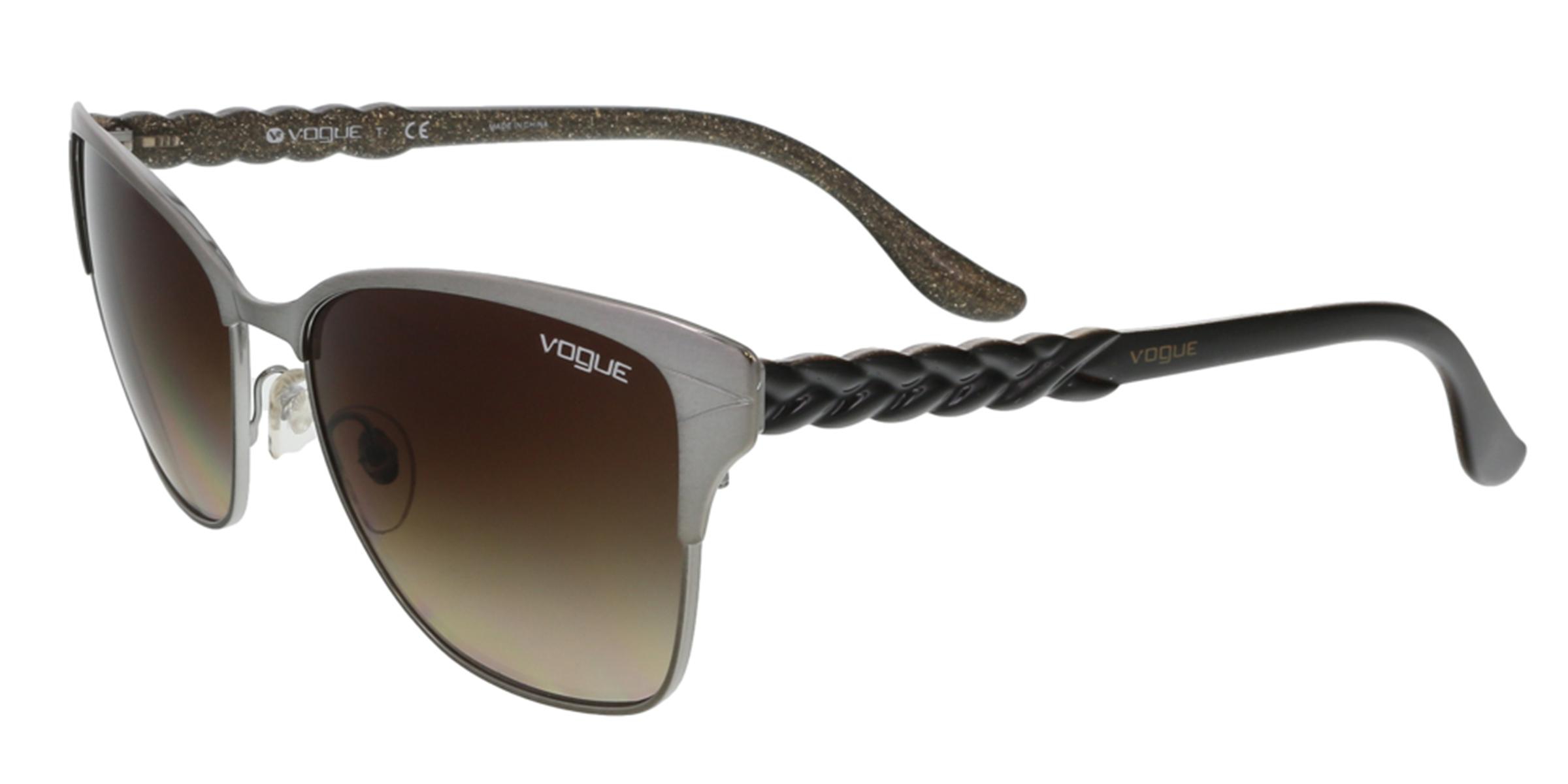 Vogue VO3949/S 548/13 Gunmetal Cat Eye sunglasses Sunglasses