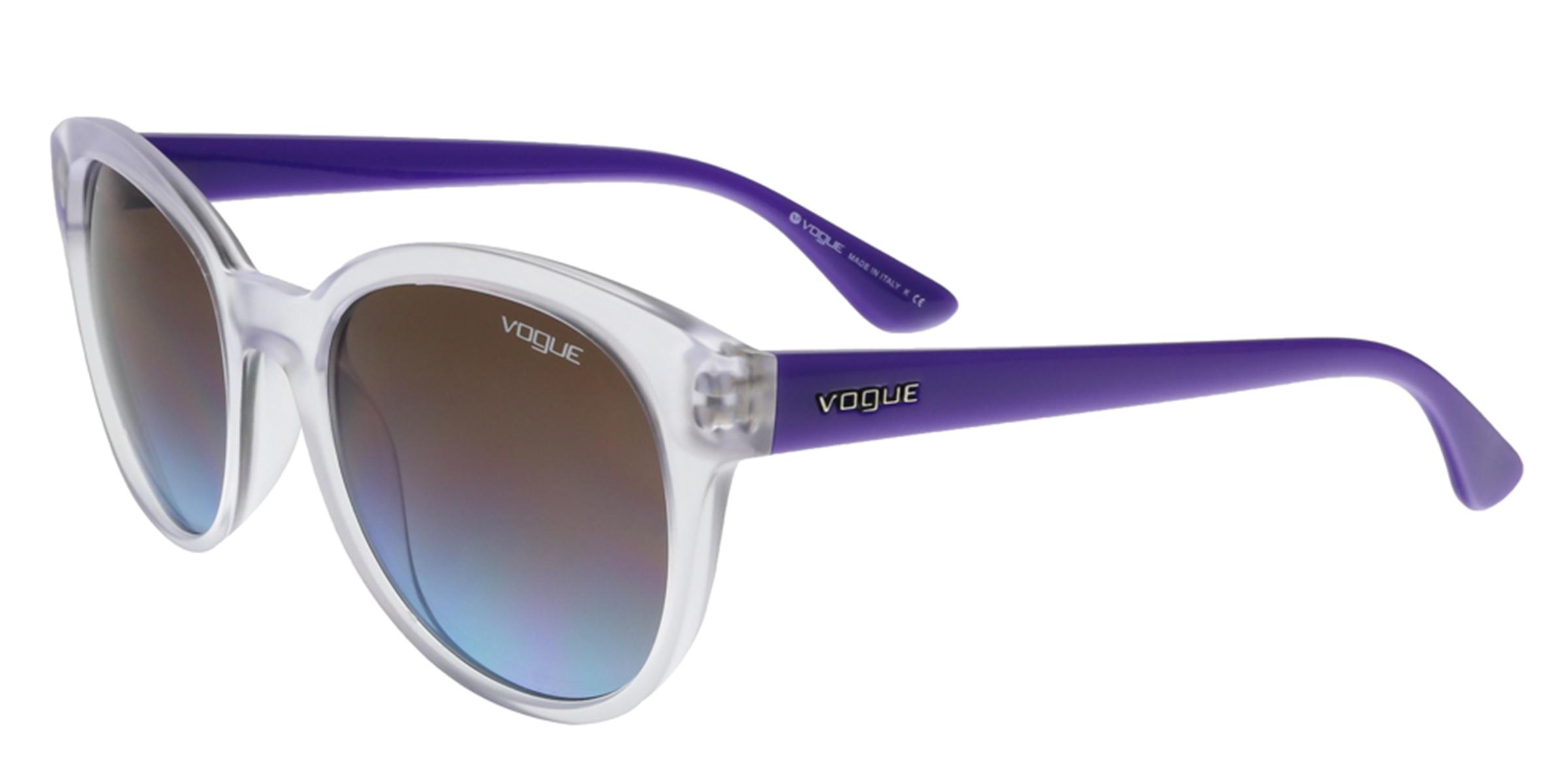 Vogue VO2795/S W74548 Clear/Purple Round sunglasses Sunglasses