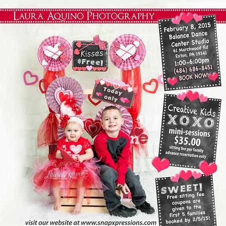 Scrapbook - Valentines XOXO kids