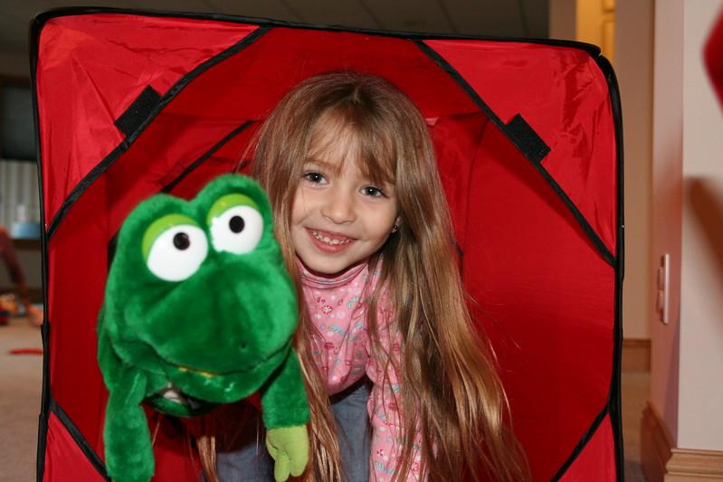 Meet Mr. Frog!