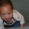 Nicholas love stairs!