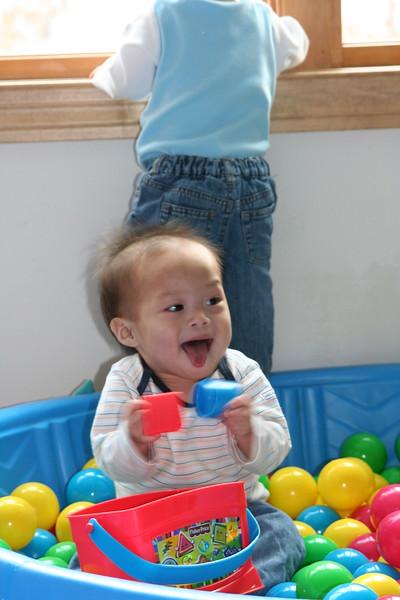 Nicholas having fun!