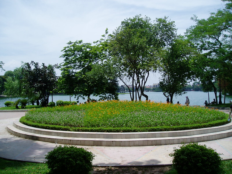 Garden at Hoan Kiem Lake