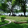 Garden at Hoan Kiem Lake