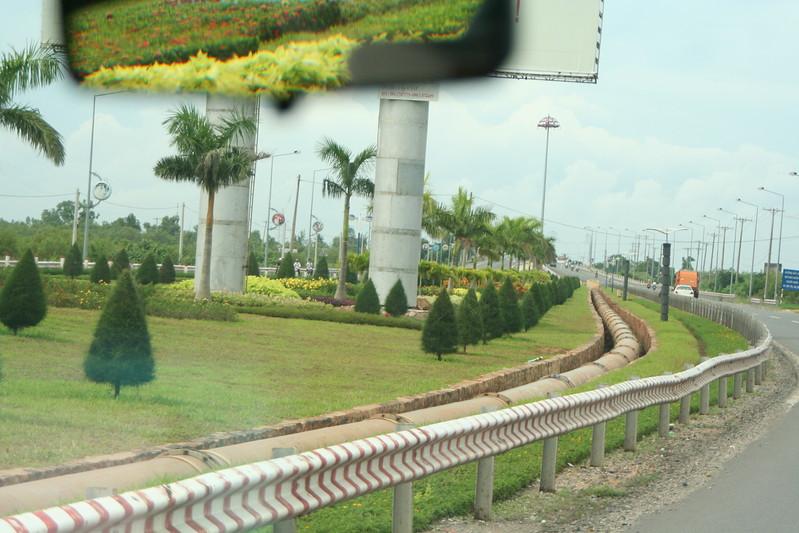 Formal Garden Approaching Vung Tau