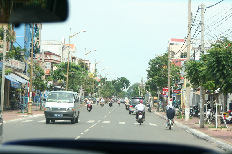 Road in Vung Tau