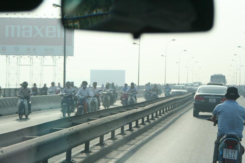 Bridge Crossing the Saigon River