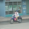 Child on a Motorbike