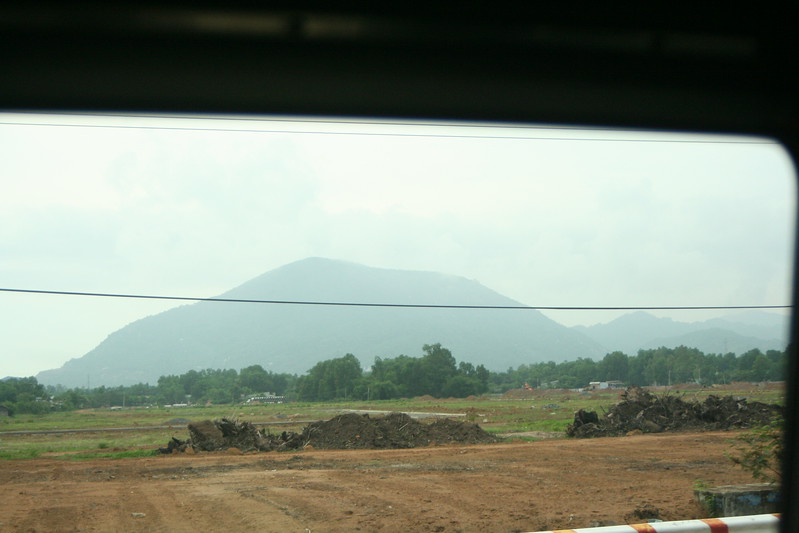 Hill Rising from the Delta