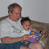 Nicholas' story time with Grandpa.
