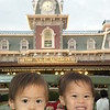 The boys at Magic Kingdom.