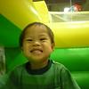 Nicholas the ham at Monkey Joe's.