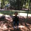 Matthew in the swing.