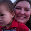 Mommy and Matthew at Magic Kingdom.