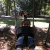 Matthew back in the swing.