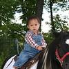 Nicholas back on the pony.