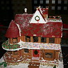 Gingerbread house expedition at the Marriott Millennia hotel.  They were getting to be in pretty bad shape by then (hence the br