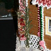 Gingerbread house expedition at the Marriott Millennia hotel.  Interesting use of a sprig of Thyme as shrubbery.