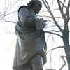 The Shakespeare statue on the writer's walk.  (I was using it as part of a study on backlight adjustment.)